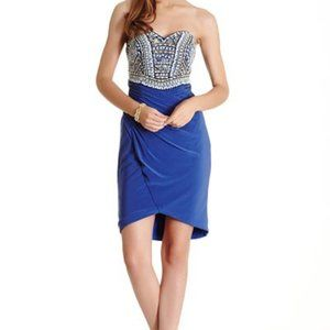 Back Cut-out, Blingy Sexy Cruise Dress Sweethear